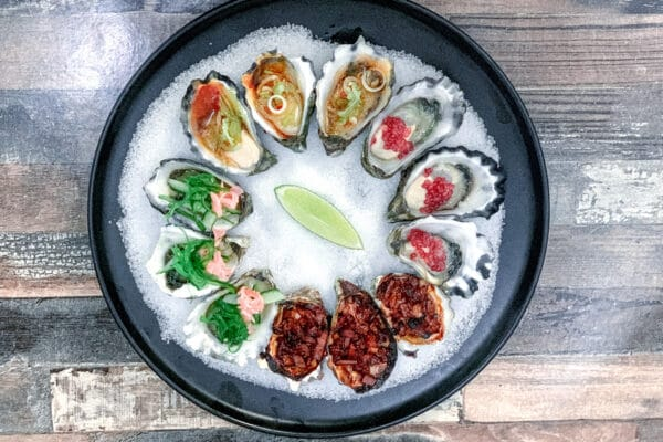 Kilpatrick Oysters & Asian Style Dressing for Oysters