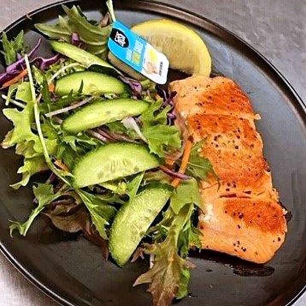 Salmon 'n' Salad